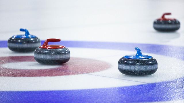 Drop in curling