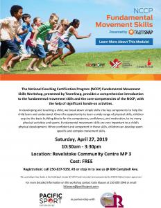 FREE Fundamental Movement Skills Workshop @ Community Centre
