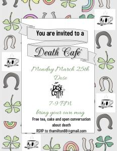 March Death Cafe @ Dose