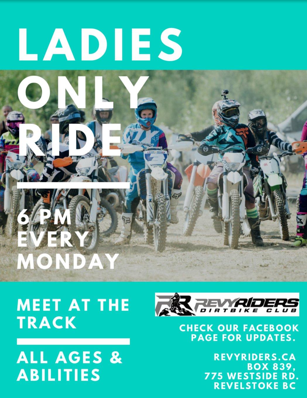Ladies Only Dirtbike Rides