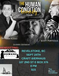 The Human Condition Comedy Tour @ Craftbierhaus