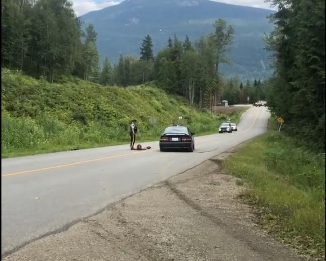 Revelstoke RCMP: Man steals bike across the street from detachment after being released following highway incident