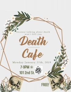 January Death Cafe @ Dose |  |  |