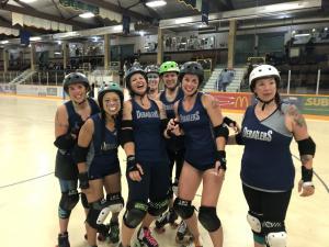 Roller Derby - Revelstoke Derailers vs Bow Valley Lady Macs @ Revelstoke Forum