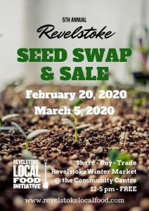 Local Food Initiative Seed Swap and Sale @ Revelstoke Winter Market |  |  |