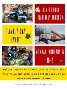 Revelstoke Railway Museum Family Day Event @ Revelstoke Railway Museum